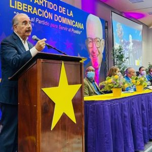 Danilo Medina confirms the return of PLD
