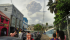 A volcano erupts in San Vicente, dousing the sky with ash
