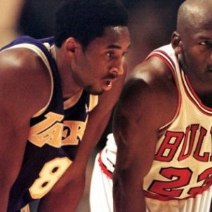 Michael Jordan inducts Kobe Bryant into the Basketball Hall of Fame