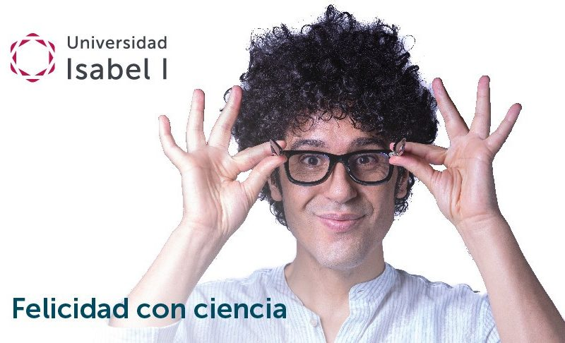 """Miguel de Lucas presents his book TFM """"Happiness with Science"""" at Isabel I University"""