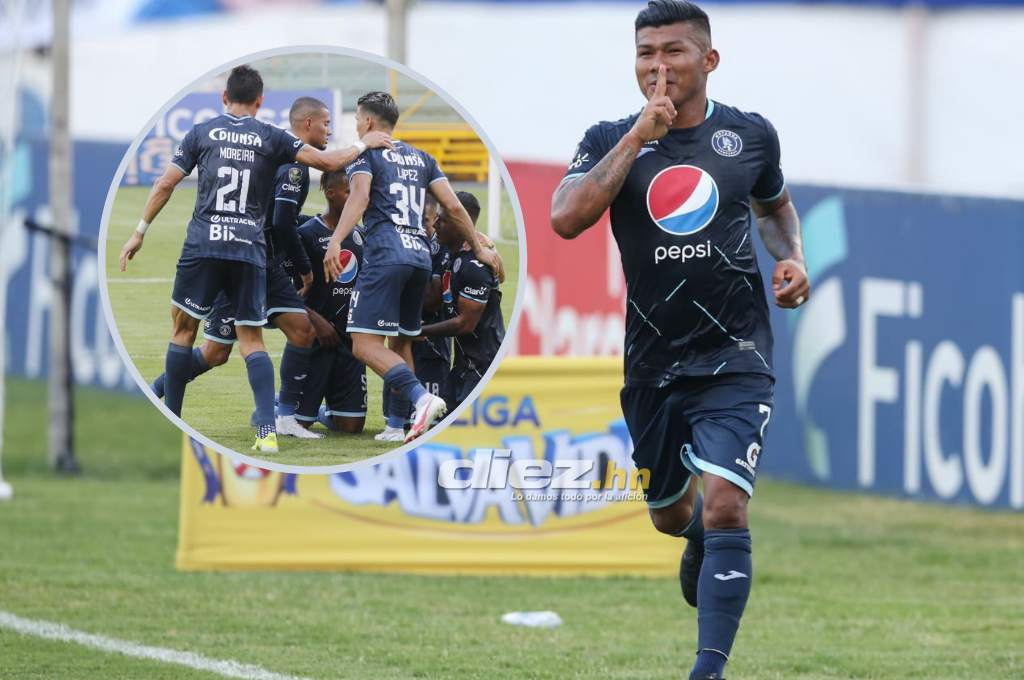 Motagua regained his memory and did so by describing the beating of Honduras Progresso-Diez