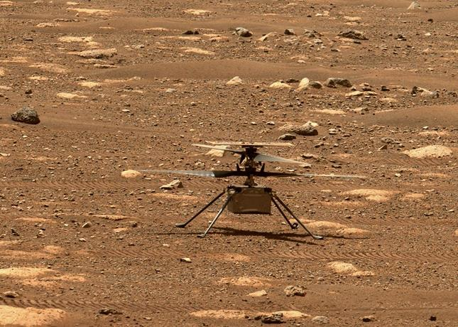 NASA will test the first flight to Mars in its ingenious helicopter on Monday