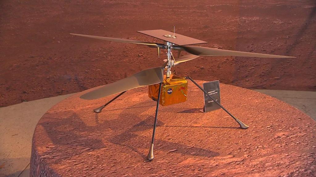 Creativity, the first flight on Mars