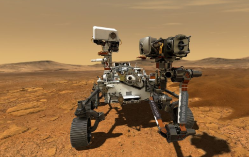 """Rocks brought back to Earth from Mars may cause """"Mars plague""""."""
