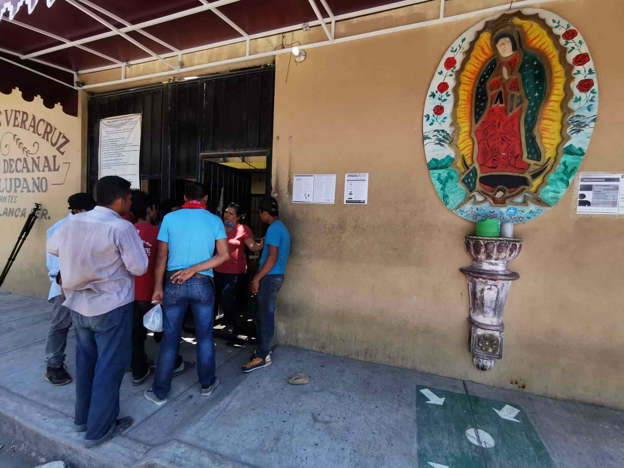 The bishop realizes that the diocese does not have the space to expand the capacity for interest in immigrants