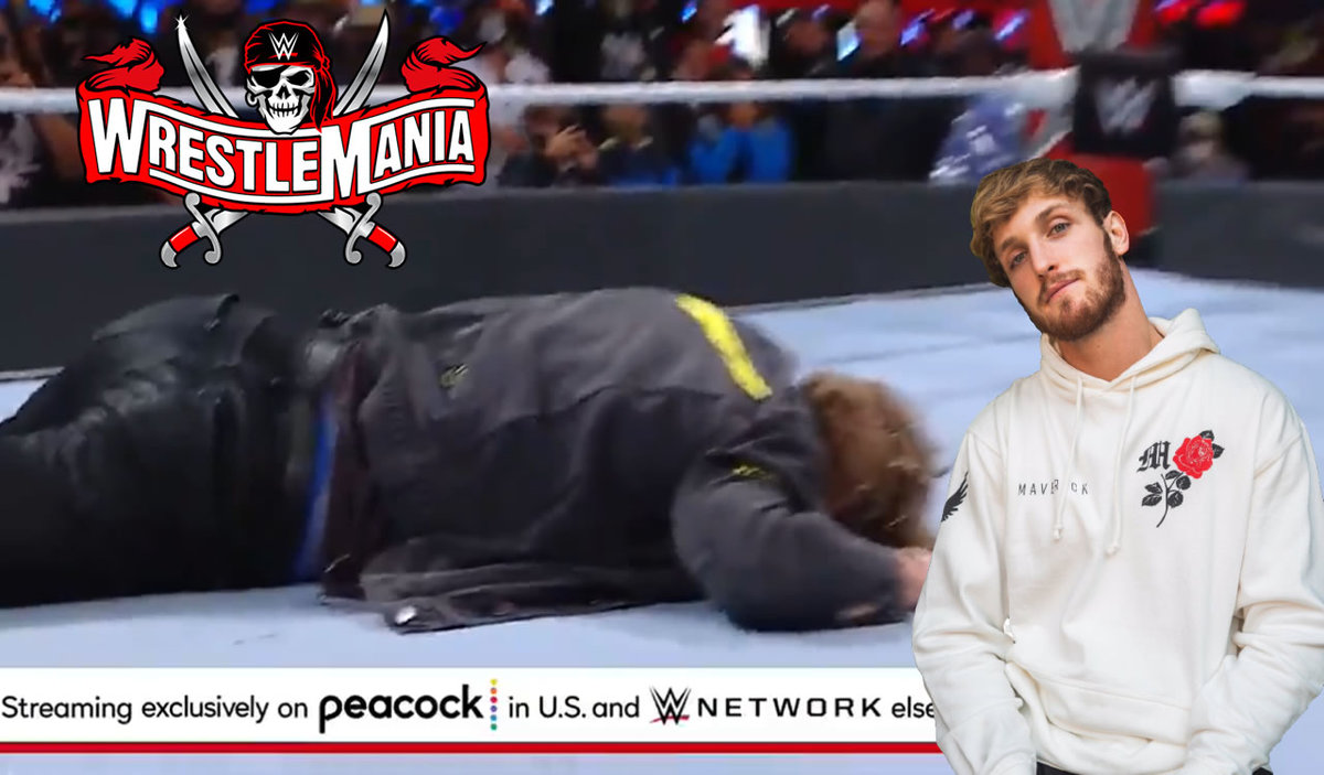WWE hates Logan Paul.  The YouTuber was beaten at WrestleMania – VIDEO