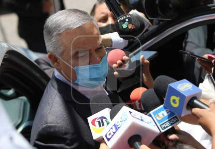 Yani Rosenthal attends the opposition meeting with Xiomara Castro