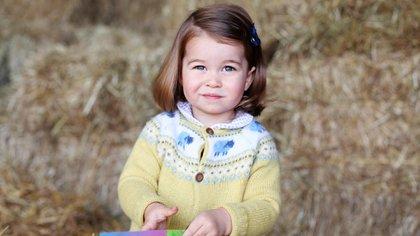 Image of the princess's third birthday