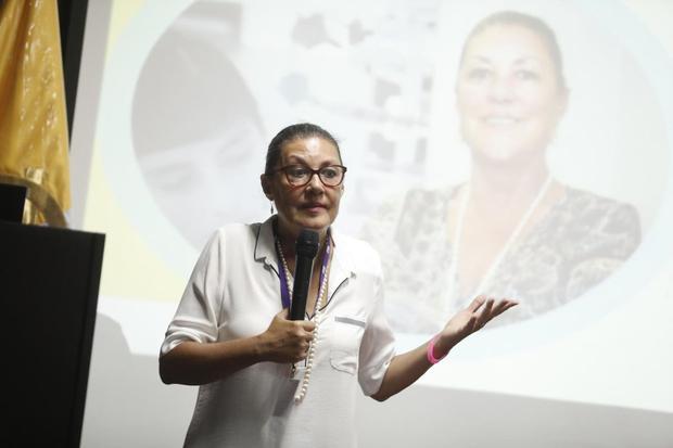 Fabiola Leon Villardi, the former president of Concytec, was between 1995 and 2002 an associate researcher at the University of Paris XIII.  (Cesar Campos / GEC)