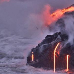 Scientists are exploring the Hawaiian lava as if it were on the surface of Mars