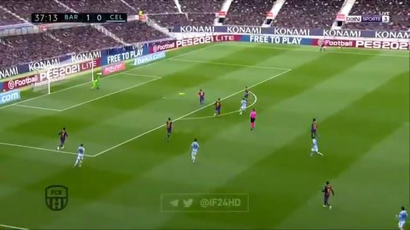 Santi Mina scores a draw for Celta against Barcelona (Video: beINSports)