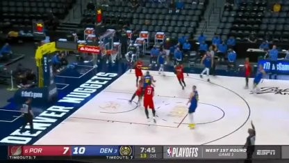 NBA: Campazzo had a good start in the playoff game, but Denver failed against Portland