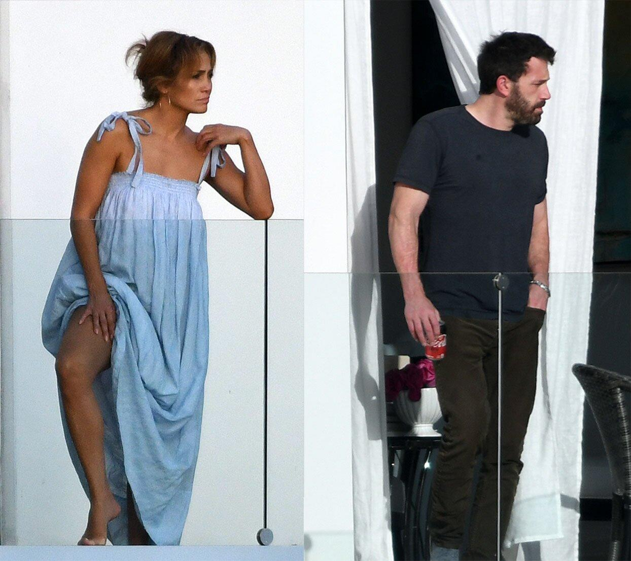Jennifer Lopez appears again in the most affectionate way with another ex-girlfriend!