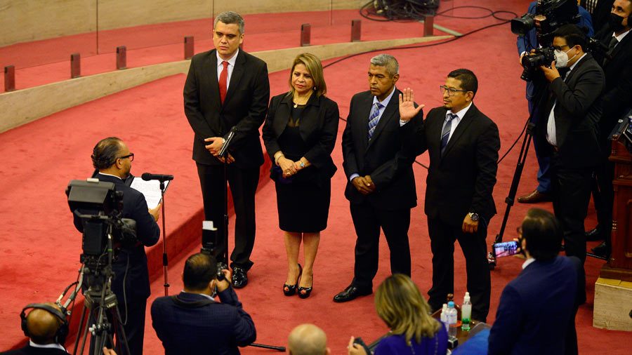 A lawyer is suing the Legislative Assembly for appointing Judge Elsie Dueneas