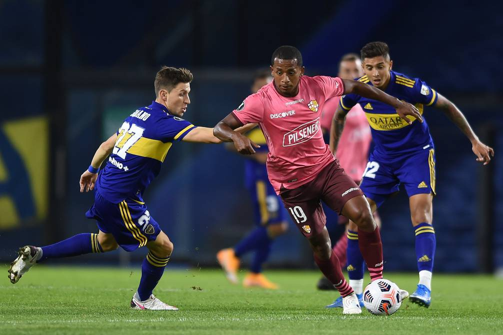 Barcelona draw at La Bombonera and guarantee its presence in the knockout stages of the Copa Libertadores |  Football  Sports