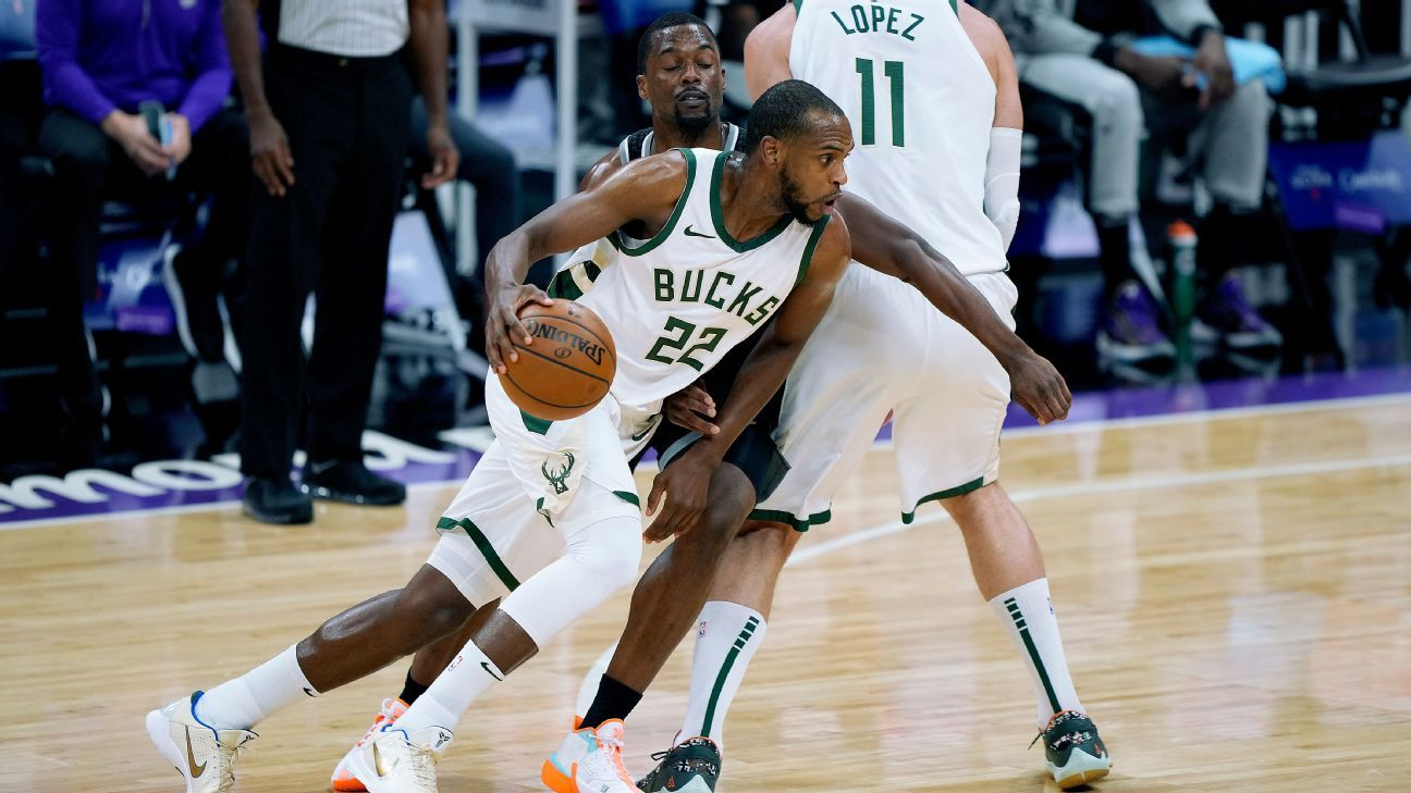 Bucks is ruled out Greens Middleton for a duel against the Bulls in the last regular season