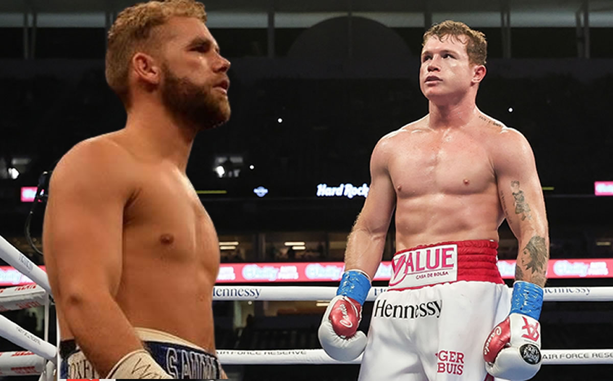 Canelo Alvarez is doped with meat, alluding to Billy Joe Saunders' father
