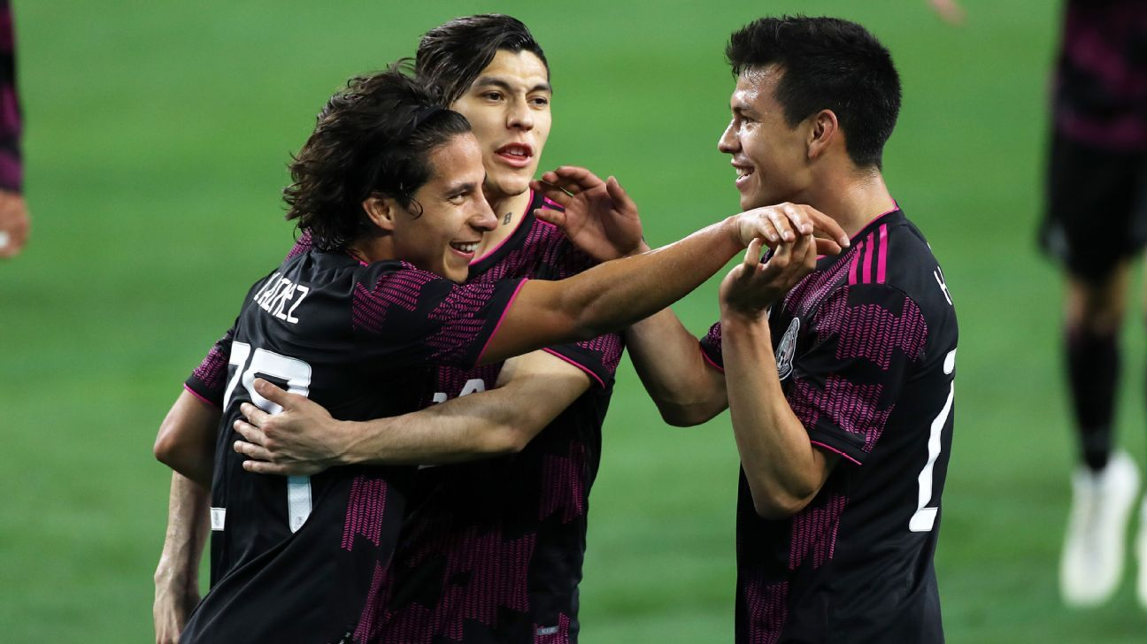 Chucky Lozano and Lynez shine among those agreed by Mexico against Iceland