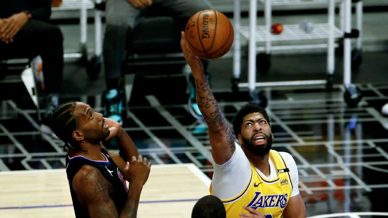 Clippers Sweeps Series Against Lakers Suffering From Anthony Davis' Disease (back)