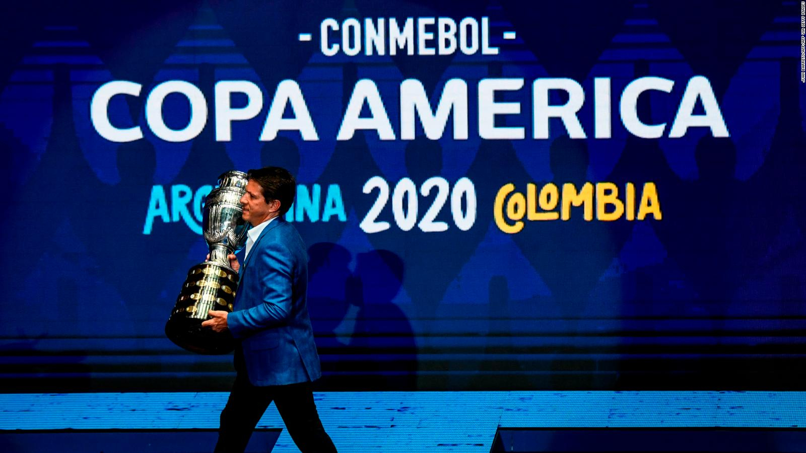 Colombia will not host the Copa America