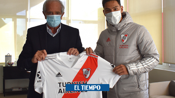 Colombian Flavian Londono signs a professional contract with River Plate – International Football – Sports
