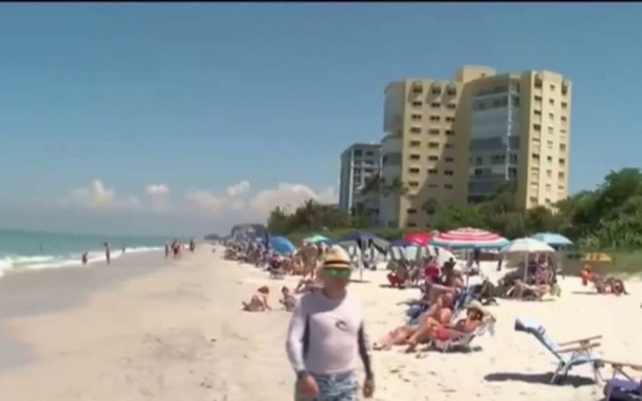 Health warning issued due to red tide on Florida's west coast – Telemundo Miami (51)