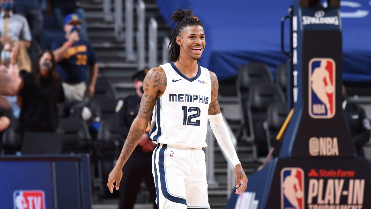 Ja Morant meets the moment and leads the Grizzlies to the playoffs