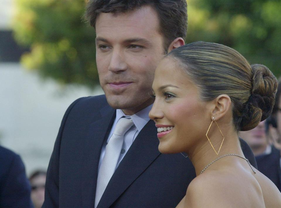 (Photo by Chris Weeks / FilmMagic) Jennifer Lopez and Ben Affleck