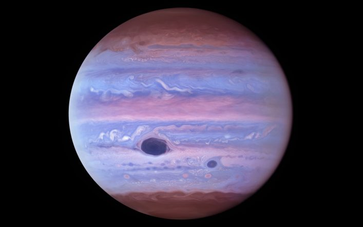 Jupiter's atmosphere we have never seen before