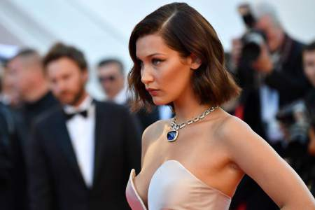 Model Bella Hadid bursts into tears for Palestine