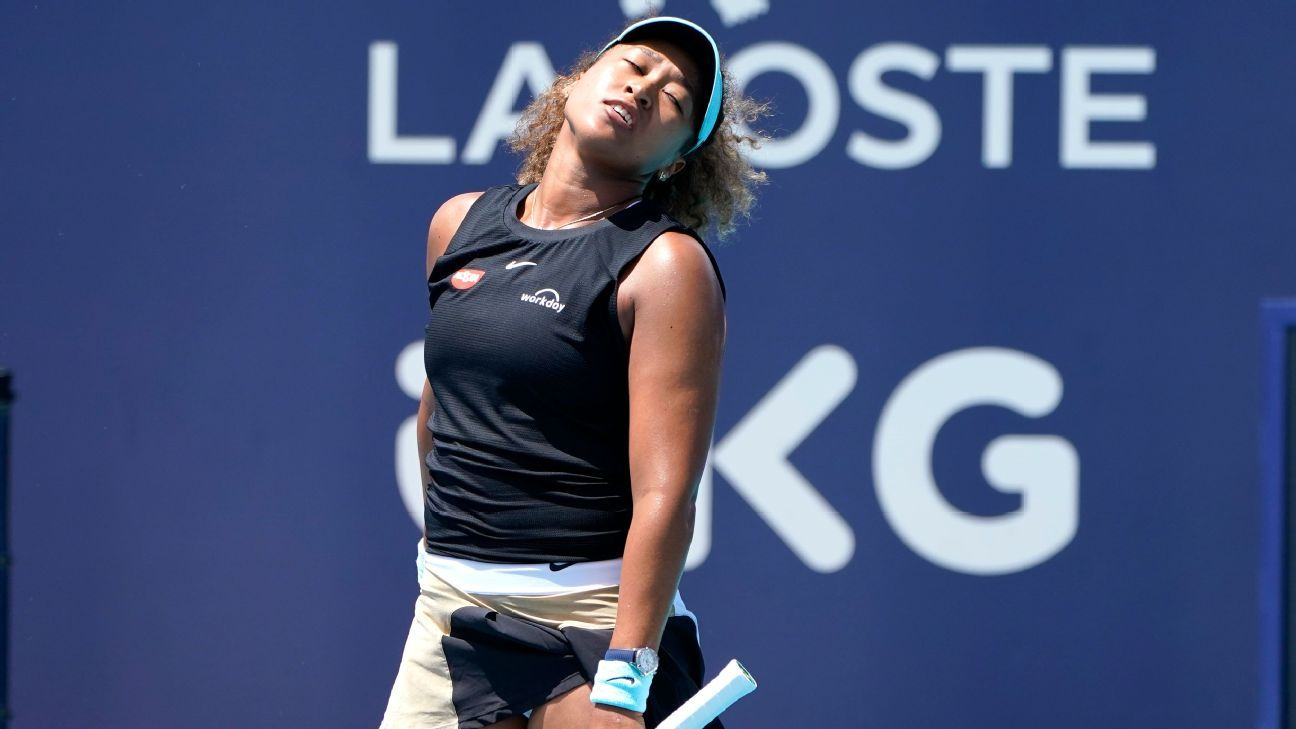 Naomi Osaka is retired from Roland Garros