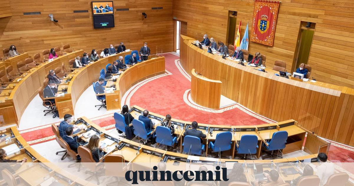 Parliament receives recourse to the Galician Health Act and will consider its legal defense