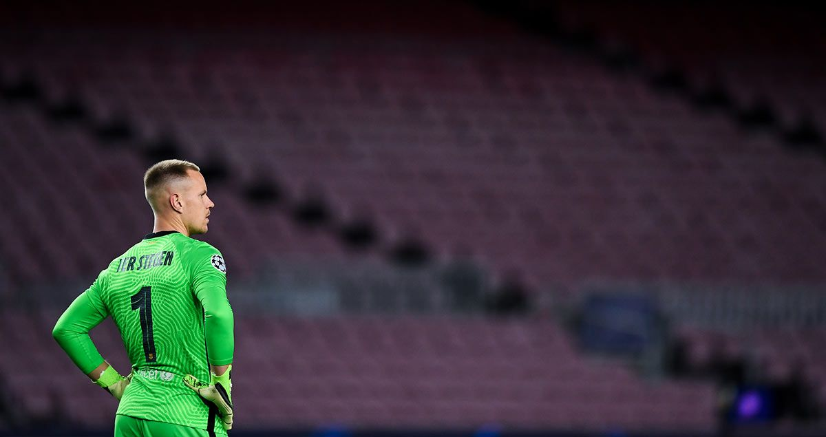 Ter Stegen is drenched with Messi's future and Haaland's signature