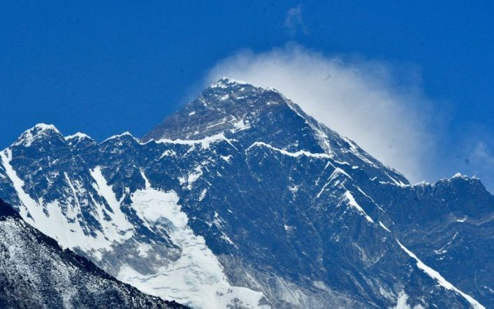 "The announcement of a Chinese ""dividing line"" on the summit of Everest is causing controversy in Nepal"