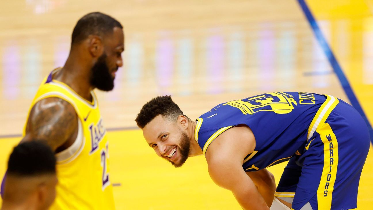 Warriors accept the role of victims against the Lakers