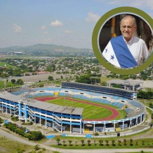 Worthy tribute: The San Pedro Sula sports complex will now be called Chelato Uclés – Diez