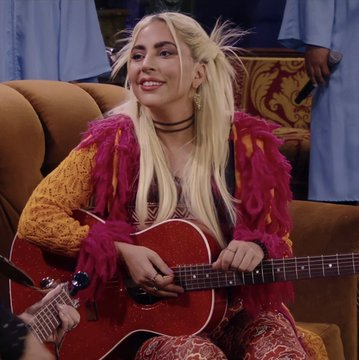 Lady Gaga's Cameo on the Friends Reunion went Beyond anyone's Wildest Dream