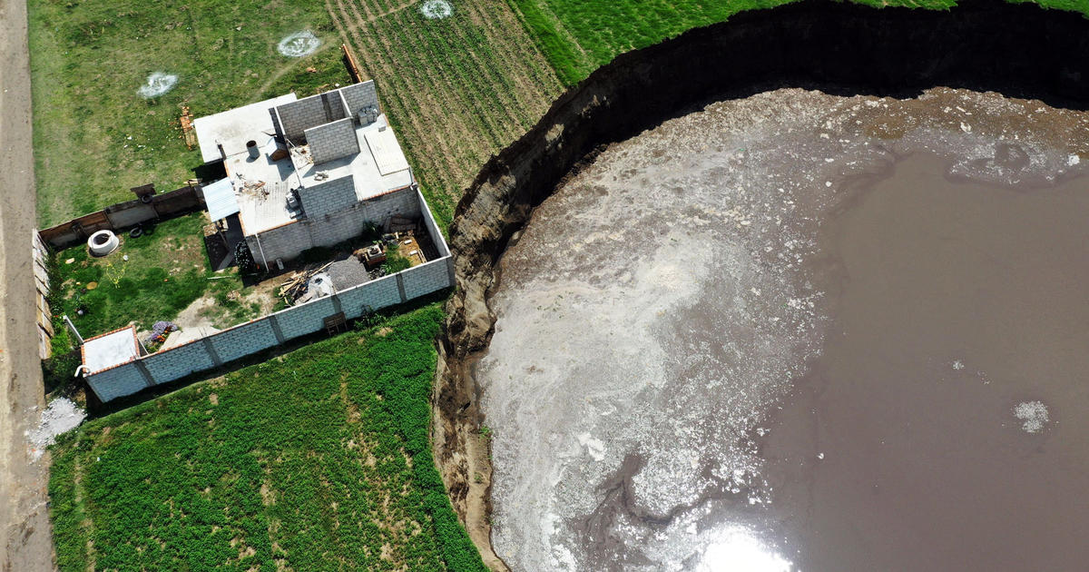 Scientists discover the origin of the giant crater of Puebla