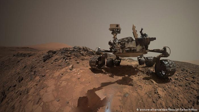 Curiosity is the predecessor of Mars 2020, and is by far the largest and most modern Mars explorer, having already traveled more than 13 miles and is still active, thanks to its radioisotope battery.  Its energy is practically inexhaustible.  Curiosity is a laboratory on wheels.
