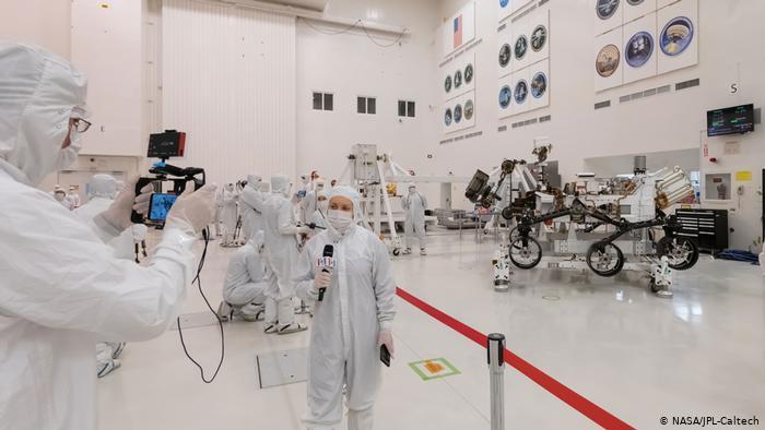 NASA 2020 Rover.