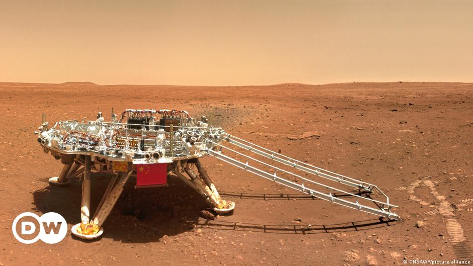 China releases color photos of Mars' surface |  Science and Ecology |  DW