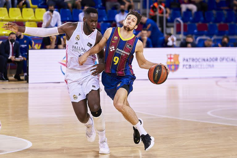 Leandro Bolmaro shines by Usman Garuba during Game Two of the ACB League Final;  Barcelona is back & # xf3;  To defeat Real Madrid and was crowned with & # xf3;.