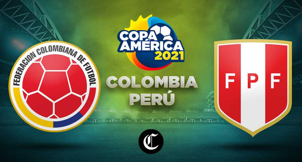 Today Peru vs.  Colombia live where you can watch the Copa America 2021 match live |  live snail |  Live Streaming |  America TV |  live football |  Today's matches |  NCZD DTBN |  Total Sports