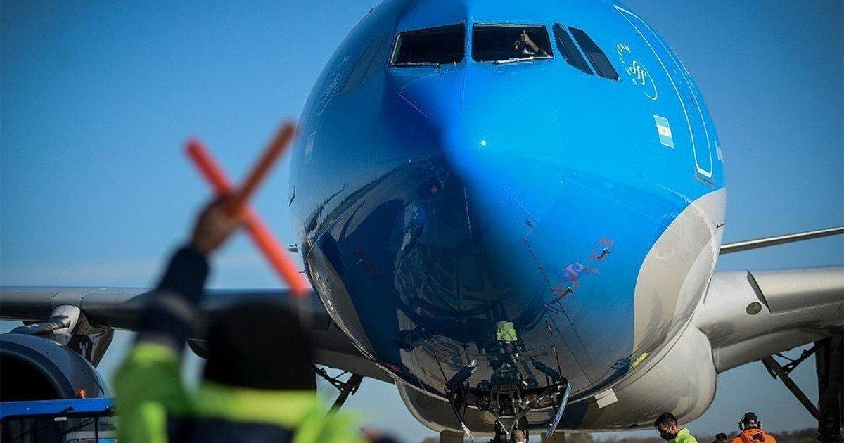 Aerolíneas Argentinas published the list of canceled flights until July 11