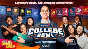 Peyton Manning feeling 'pressure' as host of 'college bowl'