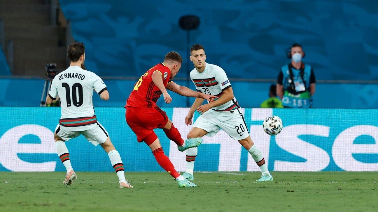 Against Belgium.  Portugal – Competition Report – June 27, 2021