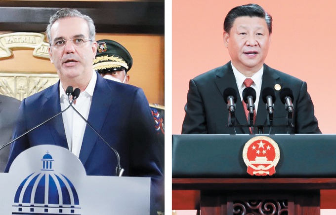 Answers the call between Abenader and Xi Jinping – US lifts aid after Abenader thanked Xi Jinping for help from China