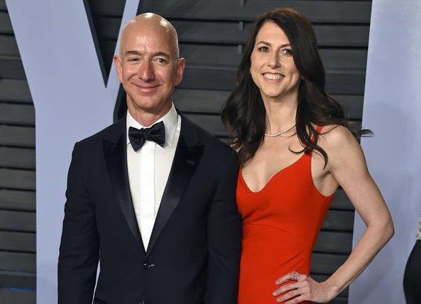 Bezos' ex-wife donates $2.74 billion to charitable causes