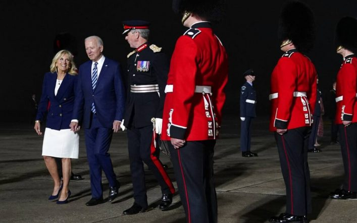 Biden urges G7 to donate COVID-19 vaccine to poor countries