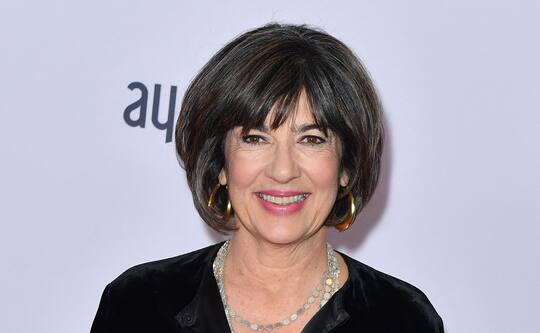 CNN Anchor Christiane Amanpour reveals ovarian cancer diagnosis and urges women to 'Listen to your body'